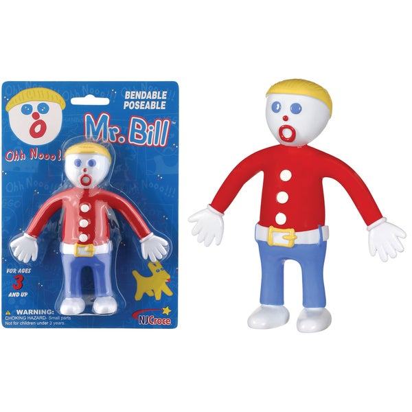NJ Croce Mr. Bill Bendable Figure