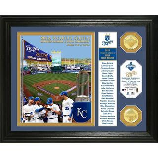 Kansas City Royals 2015 World Series Champions Banner and Ring Ceremony Bronze Coin Photo Mint