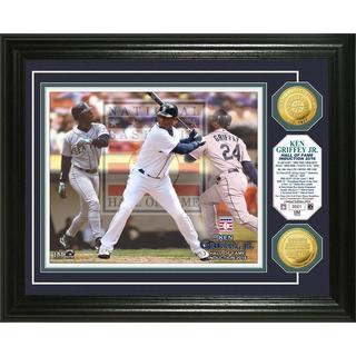 Ken Griffey Jr. 2016 Hall of Fame Induction Gold Coin Photo Mint