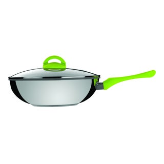 Mepra- Wok with Lid Eco Ceramic 11.6 inches