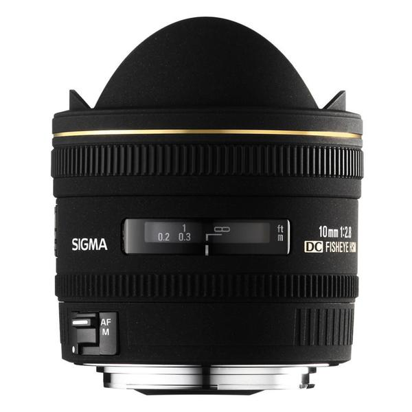 Sigma 10mm f/2.8 EX DC HSM Fisheye Lens for Sigma