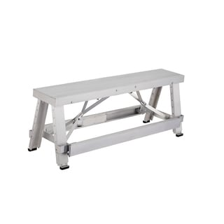 Pentagon Tool Professional Aluminum Adjustable Lift Step Workbench