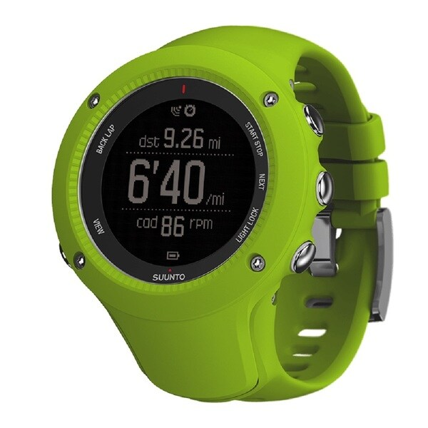 Suunto Men's Ambit3 with HR Belt SS021261000 Black Dial Watch