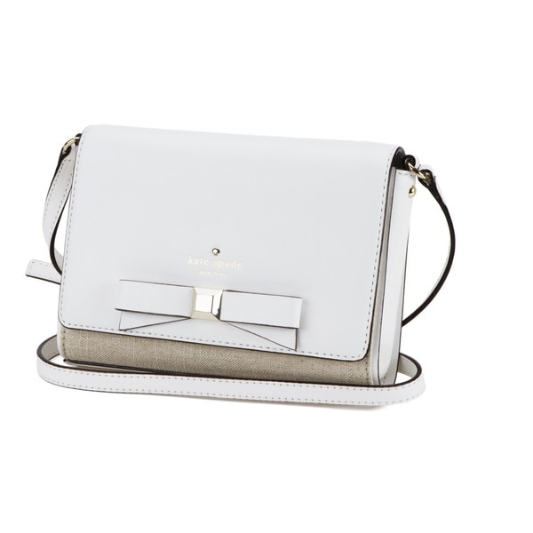 Kate Spade New York Holly Street Rubie White Cross Body Handbag