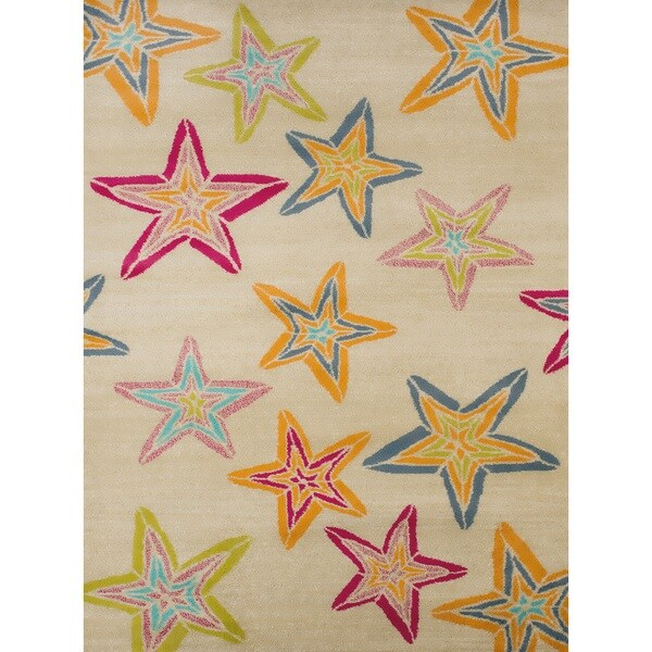 Islander Midnight Stars Accent Rug (1'10 x 3') 18154112