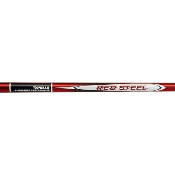 Apollo Red Steel Stepless 0.370-inch Steel Golf Shafts