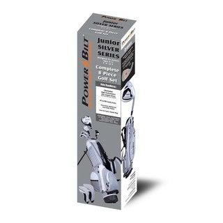 PowerBilt Junior Boys' Ages 9-12 Silver Series Set
