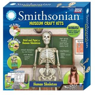 Smithsonian Museum Craft Human Skeleton Casting Kit