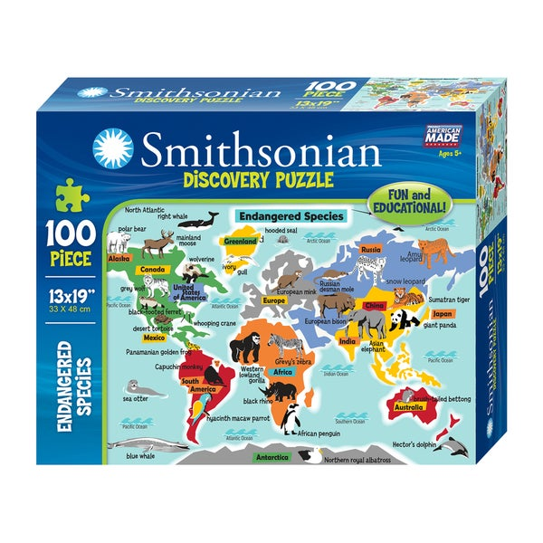 Endangered Species Smithsonian Puzzle