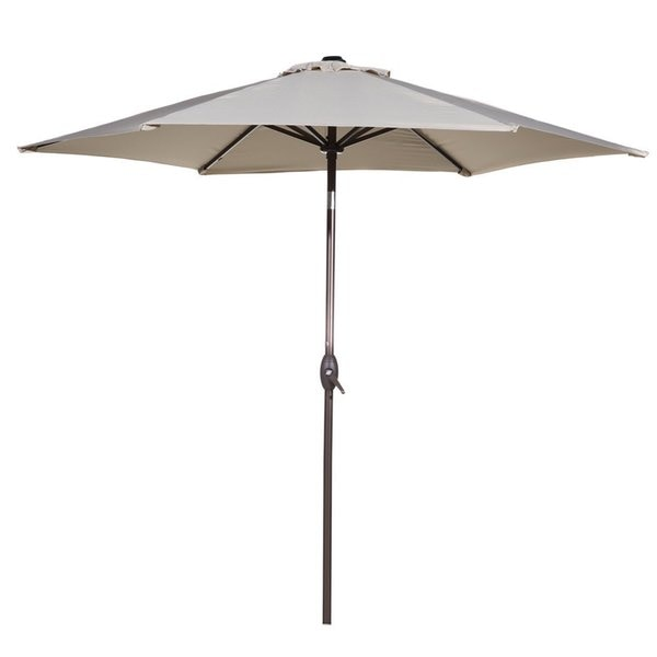 Abba Patio Market Outdoor Aluminum Tilt and Crank Patio Umbrella (9 Feet) 18155252