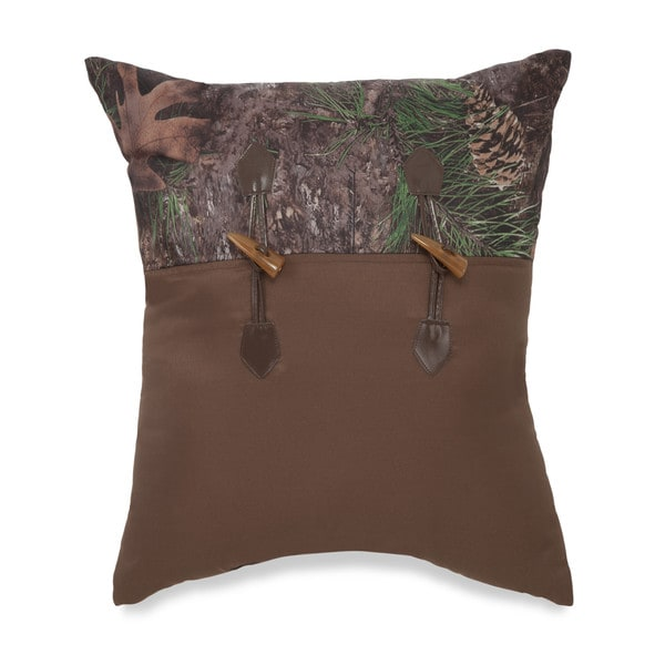 True Timber Mixed Pine Decorative Throw Pillow