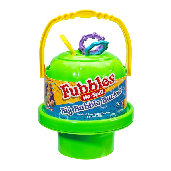 Little Kids Fubbles No Spill Big Bubble Bucket