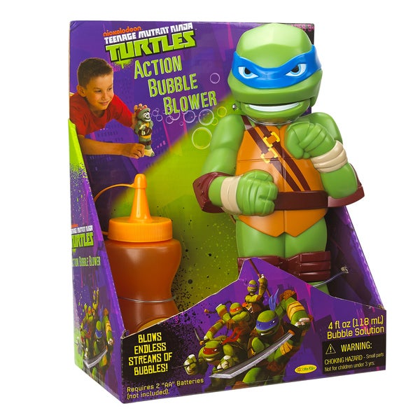 Little Kids Teenage Mutant Ninja Turtles Bubble Blower