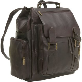 Le Donne Leather Large Traveler Backpack