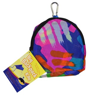 Big Back Pack Sled Kite, Splatters