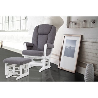 Dutailier Ultramotion Modern Glider Recliner and Ottoman