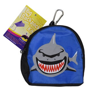 Big Back Pack Sled Kite, Shark