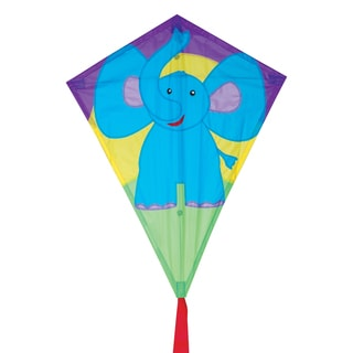 Elephant 25-inch Diamond Kite