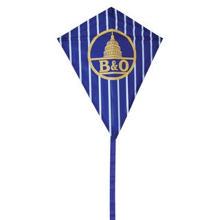B and O Logo 25-inch Diamond Kite