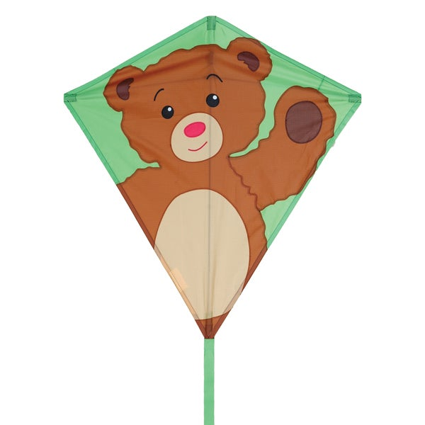 Teddy Bear 30-inch Diamond Kite