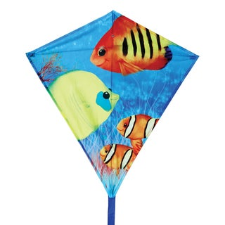 Fishy Fishes 30-inch Diamond Kite
