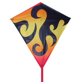 Hot Flames 30-inch Diamond Kite
