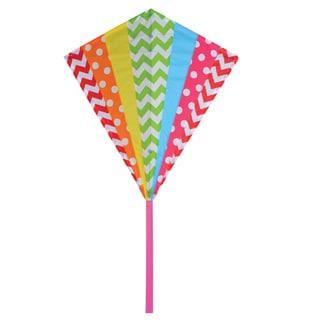 30-inch Hip Rainbow Diamond Kite