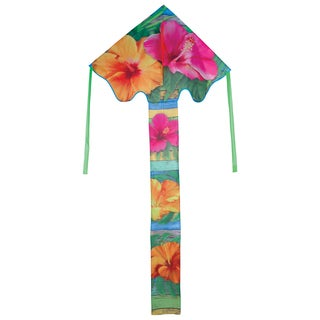 Large Tropical Hibiscus Easy Flyer Kite