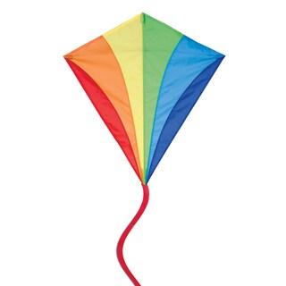 Traditional Rainbow 30-inch Diamond Kite