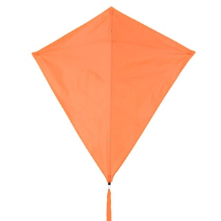 Neon Orange 30-inch Diamond Kite