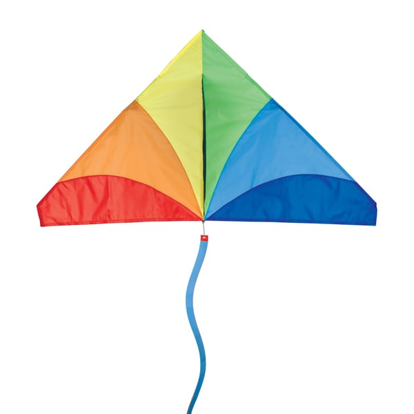 Traditional Rainbow Delta Kite
