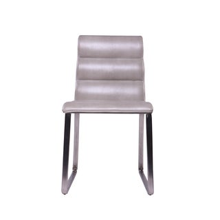 Midcentury Design Store Distressed Stone Panton Dining Chair (Set of 2)