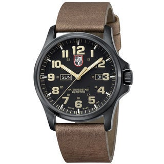 Luminox Men's Brown Leather Xl.1929 Atacama Field Day Date 1920 Series Quartz Watch