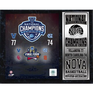 12x15 Stat Plaque - 2016 National Champions University of Villanova