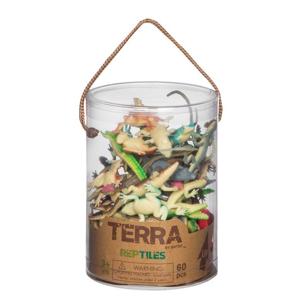 Terra Reptile Figures 60-piece Set