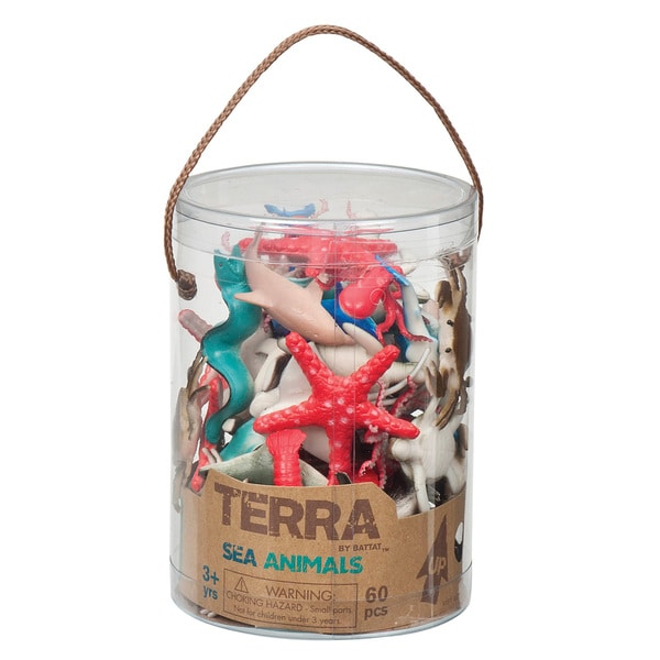 Terra Sea Animal Figures 60-piece Set 18158033