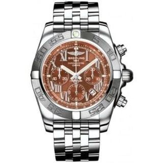Breitling Men's AB011011-Q566 'Chronomat 44' Chronograph Automatic Stainless Steel Watch