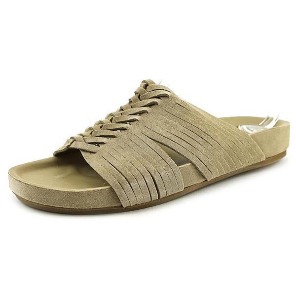 Belle Sigerson Morrison Women's 'Alva' Regular Tan Suede Sandals