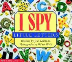 I Spy Little Letters (Board book)