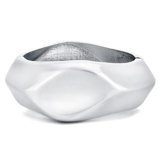 Fitbit Plantinum Finish Zinc Alloy Enhancer Bangle Bracelet for Fitbit