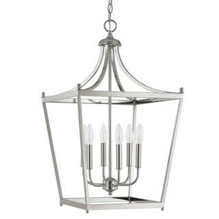 Capital Lighting Stanton Collection 6-light Polished Nickel Foyer Pendant