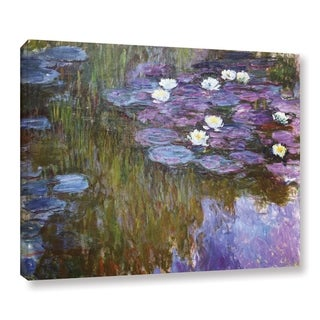 Claude Monet's 'Water Lilies, 1919-20' Gallery Wrapped Canvas