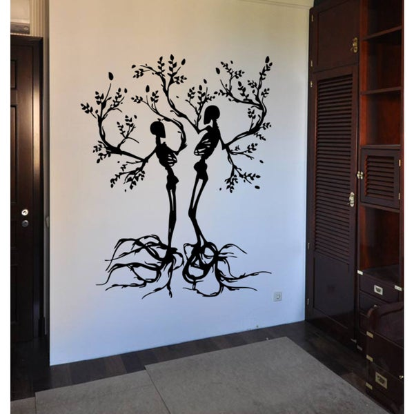 Tree skeletons Halloween Wall Art Sticker Decal