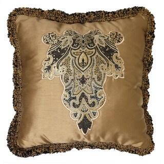 Veratex Villa Rey Gold Throw Pillow