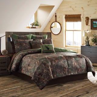 True Timber Mixed Pine 4-piece Comforter Set