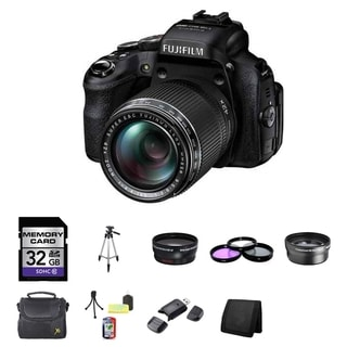 Fujifilm FinePix HS50EXR 32GB Digital Camera Bundle