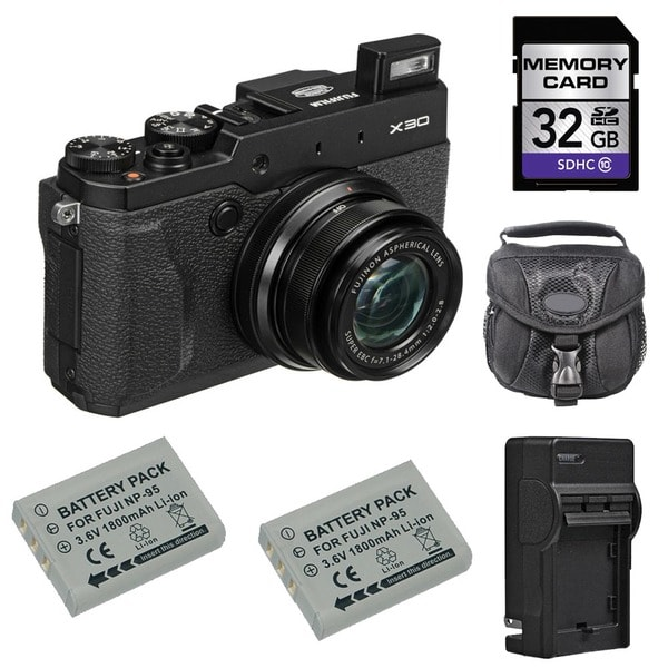 Fujifilm X30 32GB Camera Bundle