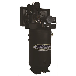 EMAX Industrial 5 HP 1-Phase 80-gallon Vertical Electric Air Compressor