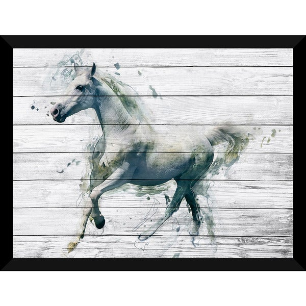 A Day At The Races' Giclee Wood Wall Decor