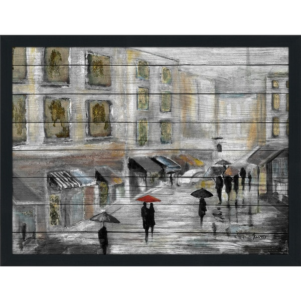 Meet Me In Paris' Giclee Wood Wall Decor